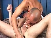 Hunks sucking and toying in 69 pose